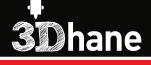 3 D H A N E Logo